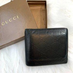 Authentic Gucci Guccisima Men's Leather Wallet
